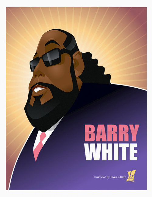 barry white illustration - barrywhite