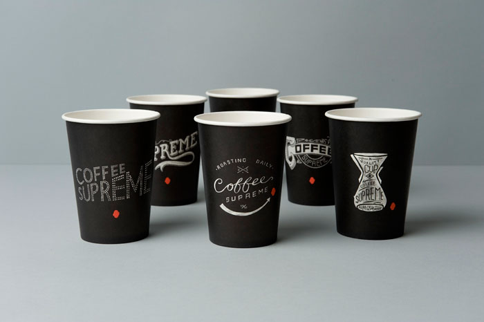 Supreme coffee cups