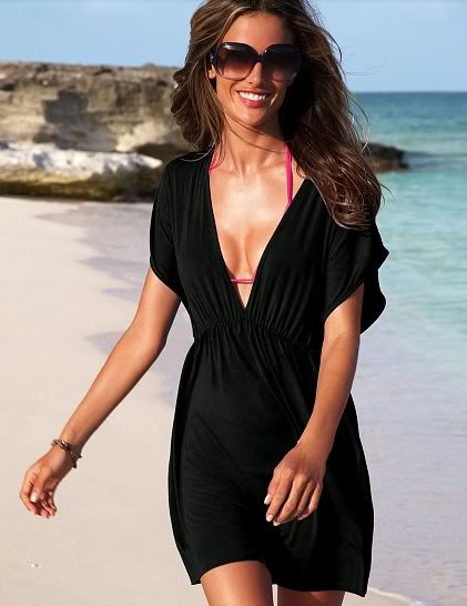 cute black dress for the beach