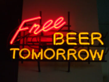 free beer tomorrow Zero sum + freemium