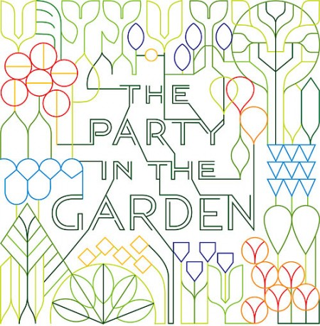 party in the garden Summer Garden Invite