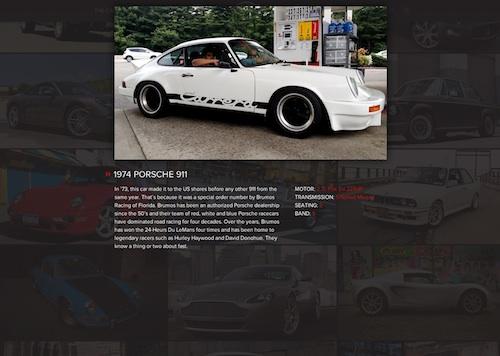 Porsche 911 Classic Car Club of Manhattan