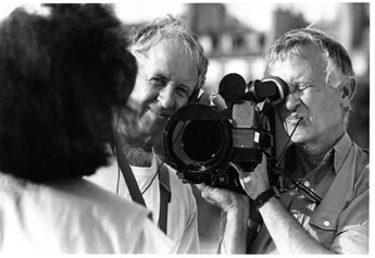 Maysles bros filming Christ 704784 Albert Maysles